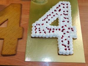 """Медовый открытый торт """"Цифра"""" - фото шаг 9"""