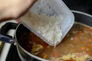 Рецепт супа с рисом и мясом - фото шаг 5