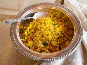 Рис с нутом - фото шаг 8