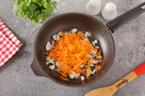 Грибной суп с баклажанами на молоке - фото шаг 2