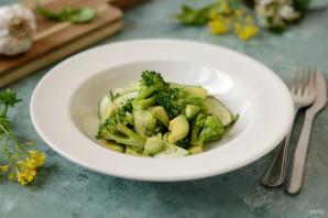 Салат из брокколи и авокадо - фото шаг 7