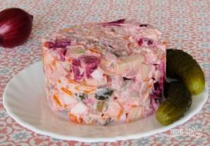"Финский салат ""Росоли"" - фото шаг 12"