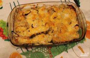 Филе трески в духовке под сыром - фото шаг 5