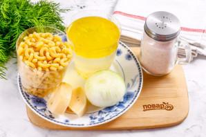 Макароны с сыром на сковороде - фото шаг 1