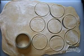 Тесто для ватрушек без дрожжей - фото шаг 3