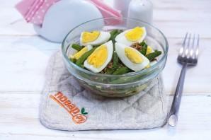 Салат с тунцом и стручковой фасолью - фото шаг 4