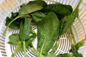Салат с семгой, яйцом и овощами - фото шаг 3