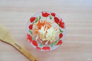 Витаминный салат из морской капусты - фото шаг 3