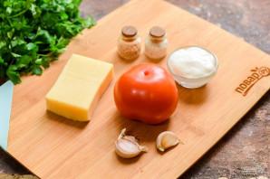 Салат с чесноком - фото шаг 1