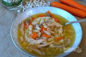 Суп с белой фасолью - фото шаг 6