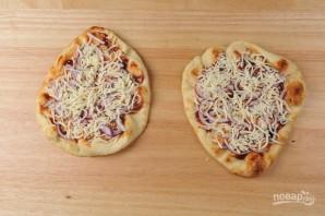 Барбекю пицца с креветками - фото шаг 3