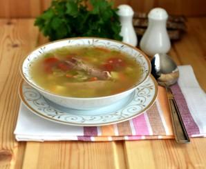 Суп из индейки с грибами и булгуром - фото шаг 6