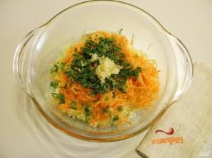 Оладьи из кабачков и моркови - фото шаг 3