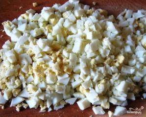 Салат с копченым окорочком - фото шаг 2