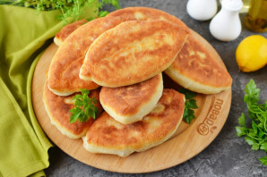 Вкусные пирожки на кефире - фото шаг 21