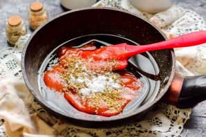 Кисло-сладкий соус с крахмалом - фото шаг 4
