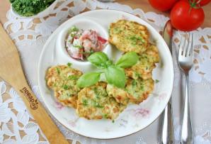 Куриные оладьи с брокколи - фото шаг 11