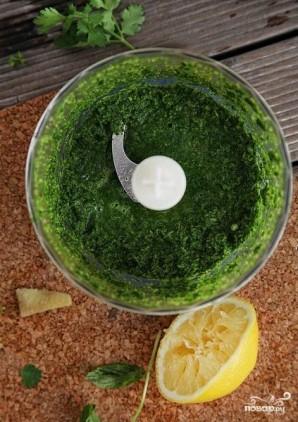 Зеленый суп с щавелем - фото шаг 4