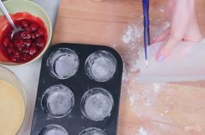Мини-пироги (3 начинки) - фото шаг 1