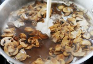 Отбивные с грибами - фото шаг 9