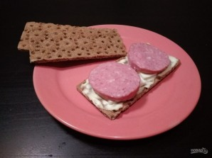 Закуски на хлебцах: 3 вида - фото шаг 4
