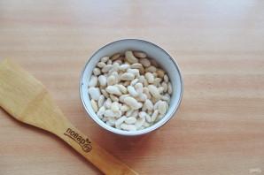Салат с фасолью и огурцами - фото шаг 2