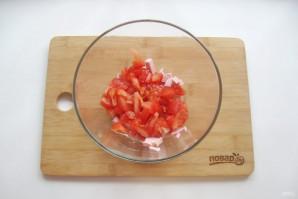 Салат с лапшой и колбасой - фото шаг 3
