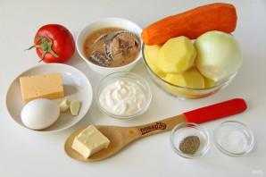 Тунец с картошкой в духовке - фото шаг 1