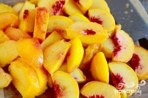 Персиковый коблер с ванилью - фото шаг 1