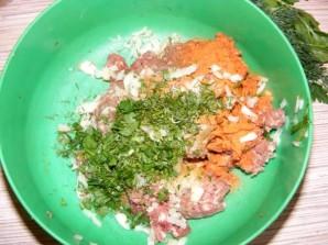Зразы с мясом и грибами - фото шаг 5
