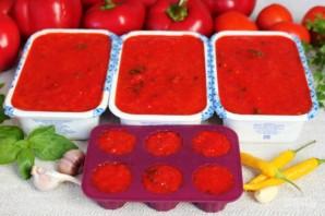 Аджика на основе красного перца, мороженная на зиму - фото шаг 6