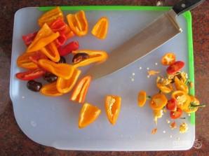 Запечённая спаржа с перцем - фото шаг 2