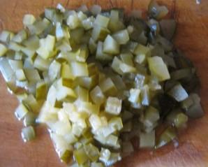 Грибная солянка с капустой - фото шаг 7