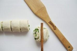 Китайские паровые булочки - фото шаг 10