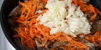 Паштет из печени с морковью и луком - фото шаг 2