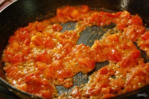Фарфалле со сливочно-томатным соусом - фото шаг 4