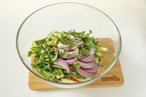 Китайский салат с языком - фото шаг 6