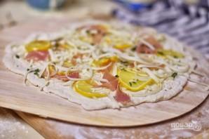 Пицца с прошутто и лимоном - фото шаг 3