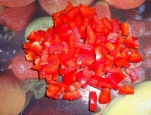 Чахохбили с фасолью - фото шаг 3