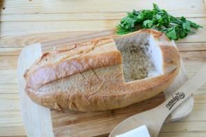 """Томатный суп в хлебе """"Ежик"""" - фото шаг 3"""