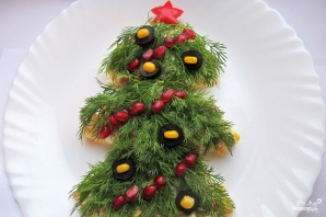 "Салат ""Новогодняя елка"" - фото шаг 6"