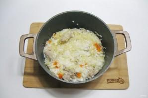 Рис с капустой и мясом - фото шаг 11