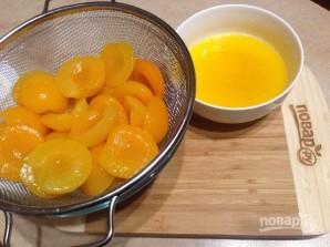Пирог с консервированными абрикосами - фото шаг 1