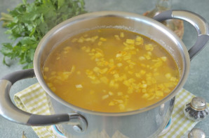 Суп с нутом и брокколи - фото шаг 6