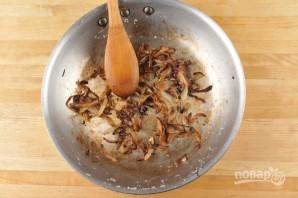 Чиабатта с луком и яблоком - фото шаг 2