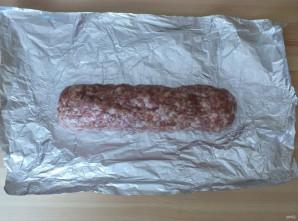 Домашняя колбаса в фольге - фото шаг 5