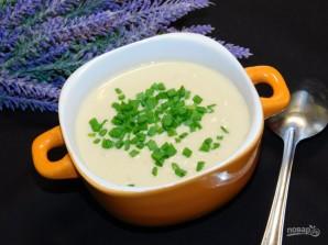 Сливочный суп-пюре с курицей и грецкими орехами - фото шаг 7
