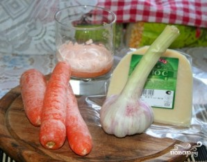 Салат из моркови и сыра - фото шаг 1