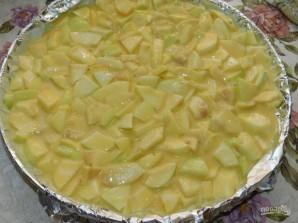 Яблочный пирог на крахмале - фото шаг 4