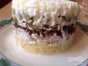 Салат из печени слоями - фото шаг 10